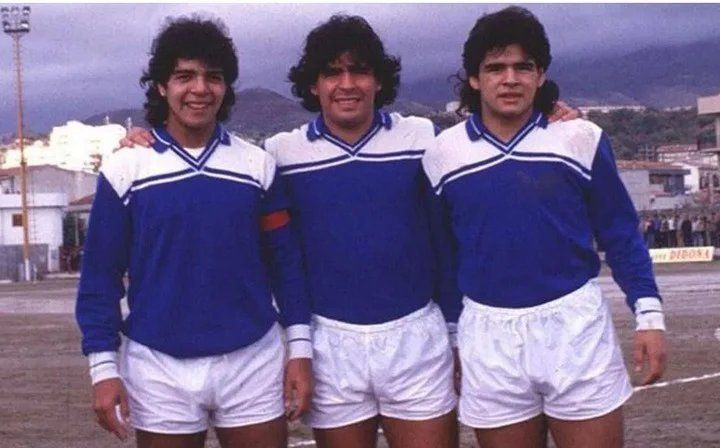 Hugo junto a Diego y a Lalo