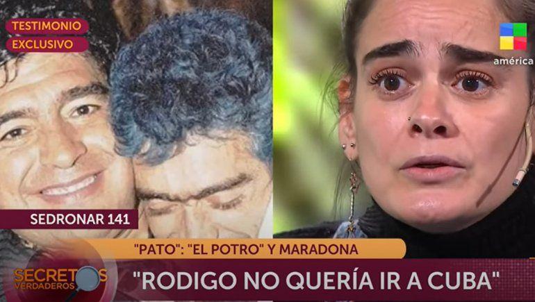 ¡Bomba! Revelan la historia de consumo entre el Potro Rodrigo y Maradona