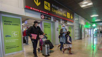 covid: espana impone cuarentena obligatoria a viajeros que lleguen de argentina