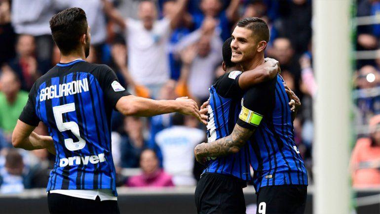 Icardi también marcó después del fiasco de la Selección