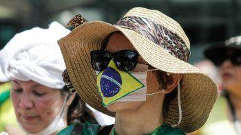 Coronavirus: Brasil se aproxima a los 17 millones de contagios