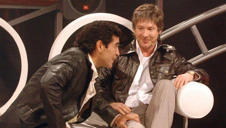 En 2005 se puso al frente de La Noche del Diez y facturó como conductor de TV.