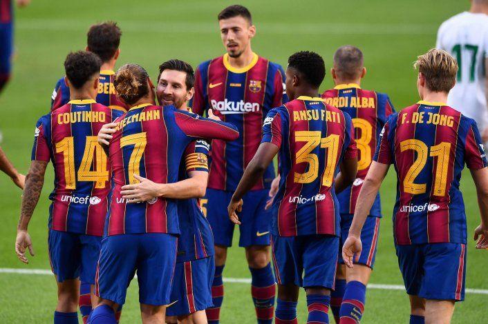 Barcelona abrió la temporada con el silencio de Messi