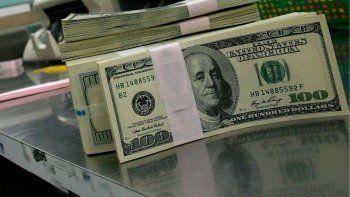 El dólar blue tuvo un descensodel 0,64 por ciento con relación a la jornada anterior