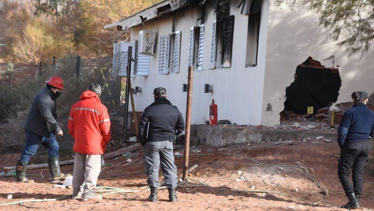 El CPE convoca a Obras Públicas por la explosión de la escuela