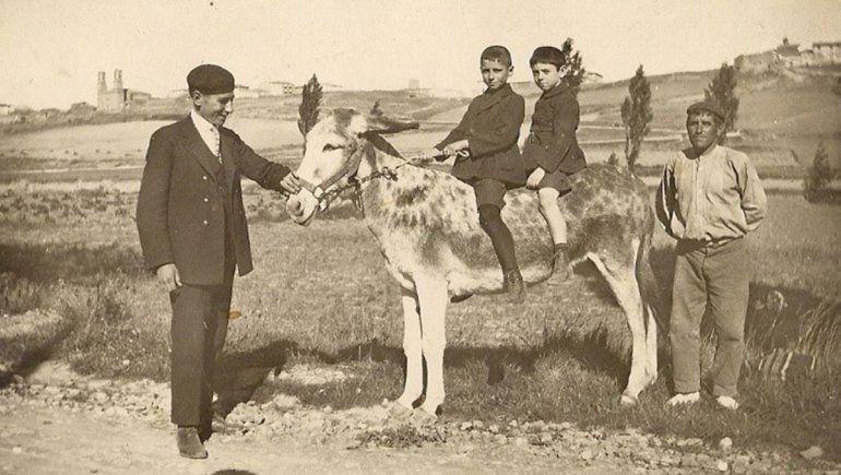 Los Osés en España, década del '20.