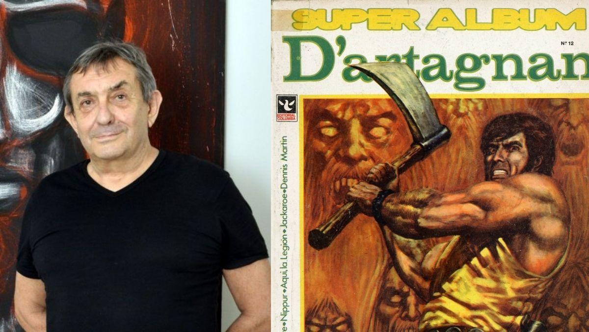 la ultima aventura de robin wood, un gigante de la historieta argentina