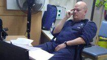 el doble homicida del buque habia estado preso por intentar matar a su vecino