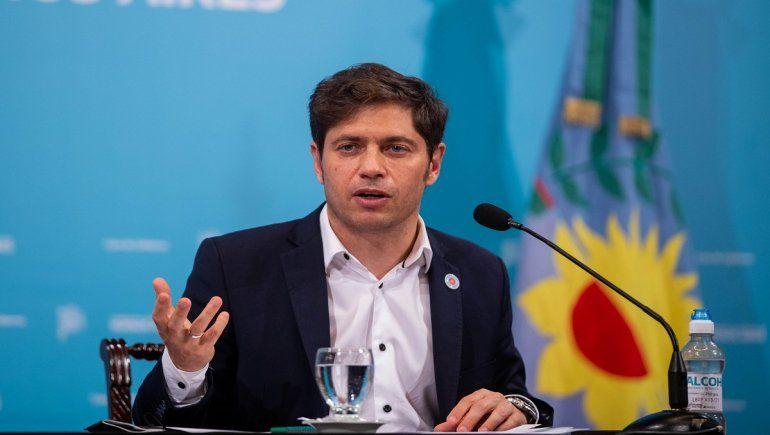 Axel Kicillof, gobernador de la provincia de Buenos Aires, aseguró que la vacunación a docentes tendrá inicio la semana próxima con la vacuna rusa Sputnik V.