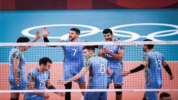 Vóley: Argentina venció a Italia y está en las semifinales de Tokio 2020