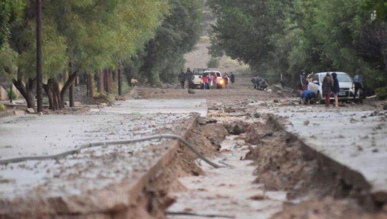 Mirá las impactantes imágenes de la tormenta en Barrancas