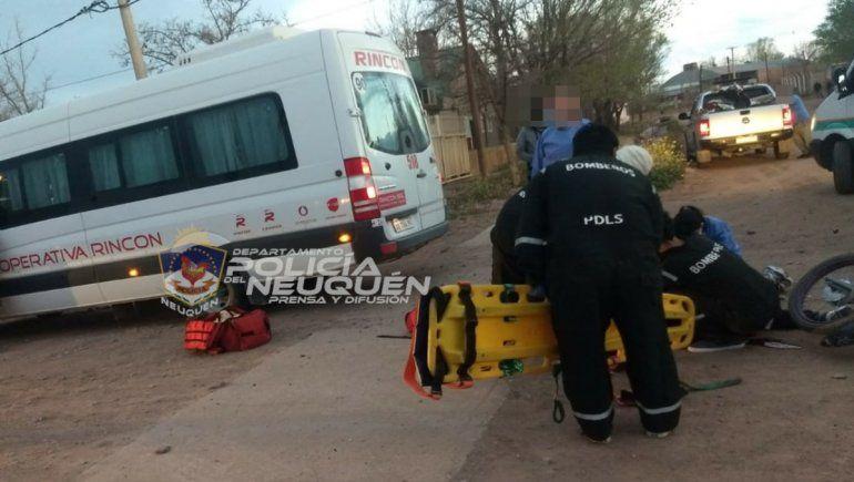 Un adolescente de 15 años falleció en un brutal accidente en Rincón de los Sauces.