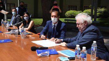 Gutiérrez resaltó el trabajo conjunto y destacó los acuerdos alcanzados
