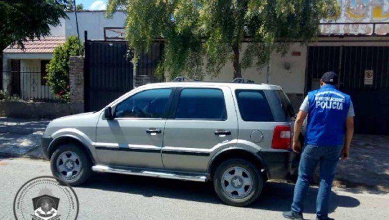Secuestraron una camioneta porque tenía el 08 adulterado