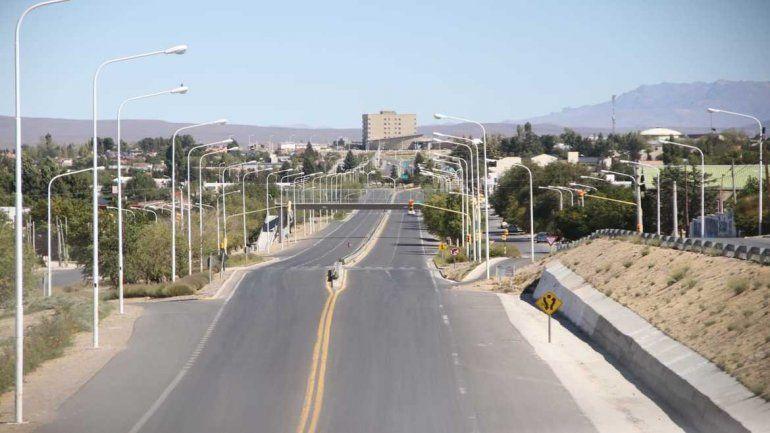La ciudad de Zapala.