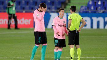 estan pensando en el clasico: derrotas del barcelona y el real madrid