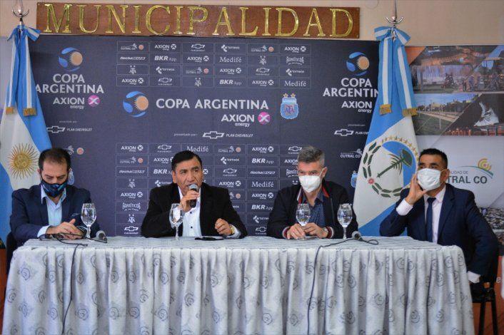 Cutral Co será sede de tres partidos de Copa Argentina en 2021