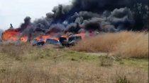 incendio en el barrio san lorenzo