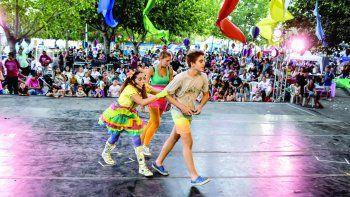 La Fiesta de la Confluencia, el gran espectáculo de la ciudad.