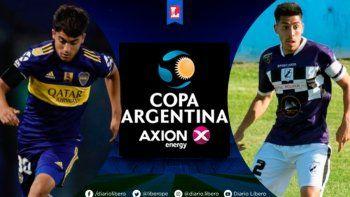 boca-claypole por la copa argentina: hora, tv y formaciones