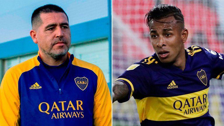 Villa le contestó duro a Riquelme, y Vignolo se puso loco