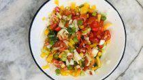 receta clasica: salsa criolla tradicional y facil de hacer