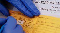 alemania lucha contra el comercio de certificados falsos de vacunas covid
