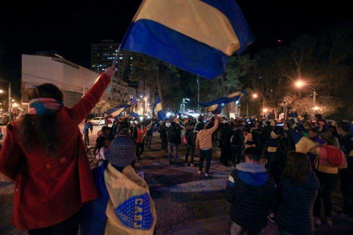 Neuquén: repudian a los irresponsables de Boca que salieron a festejar