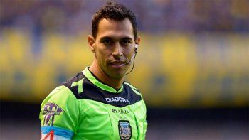 Fecundo Tello, árbitro bahiense para el Boca-River de cuartos de final.