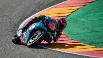 Fabio Quartararo se quedó con la pole position en Aragón