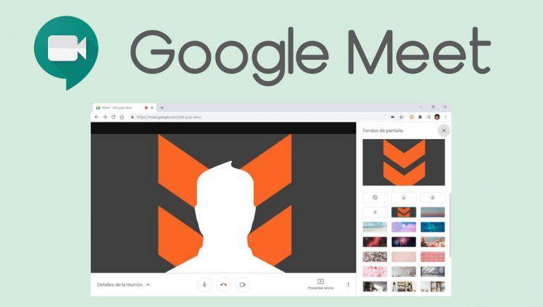 Google Meet: ¿Cómo desenfocar el fondo?