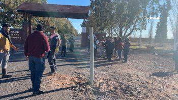 mapuches pondran una barrera de ingreso para reivindicar su tierra