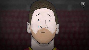 Pura emoción: el dibujo animado que repasa la era Messi en Barcelona