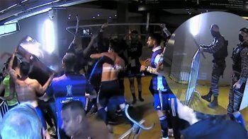 Incidentes en el vestuario de Boca tras la polémica eliminación
