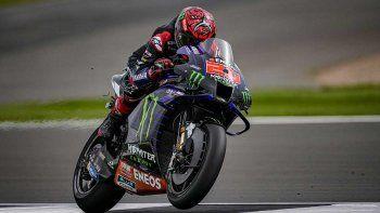 Fabio Quartararo ganó la carrera del MotoGP en Silverstone