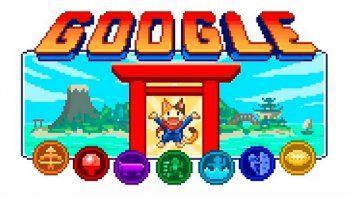 Google: así es el doodle de los Juegos Olímpicos