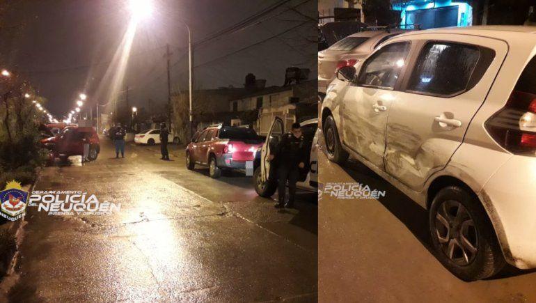 Manejaba con 2,16 de alcohol en sangre y chocó un auto estacionado