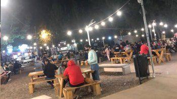 la muni extiende el horario de atencion en bares y restaurantes
