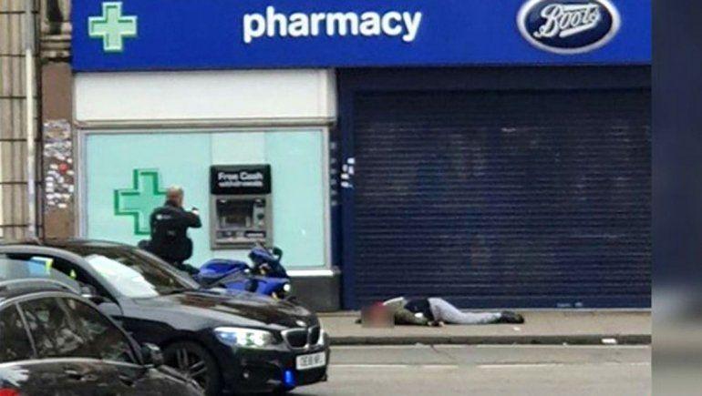 La Policía británica mató a un hombre en ataque terrorista