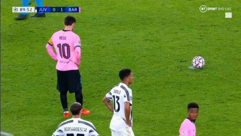 Messi desde los 12 pasos.