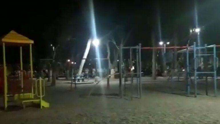 Qué dijo la Policía sobre el último primer día en Centenario