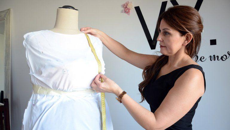 La diseñadora que viste a las novias más allá de los talles