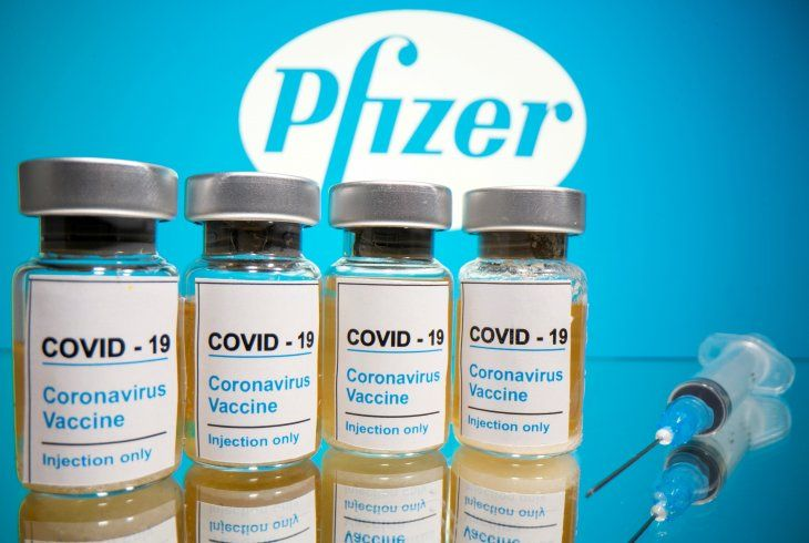 FILE PHOTO: Vials with a sticker reading