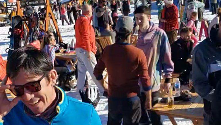 Esquiadores de Chapelco harán donaciones y gestionarán vuelos sanitarios