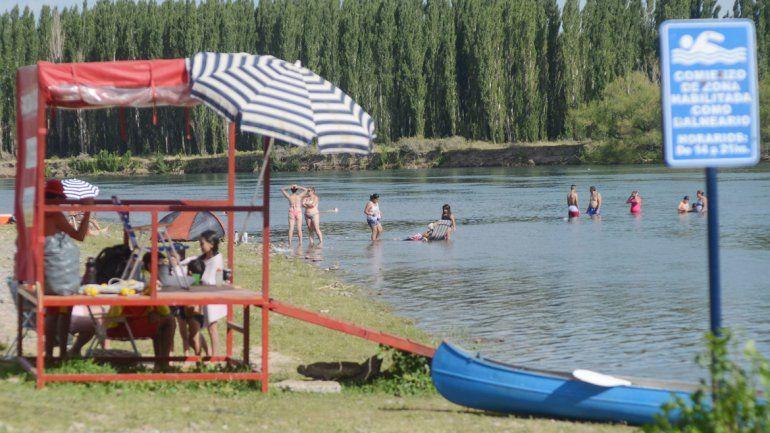 El balneario Valentina