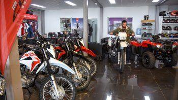 En 2020 se registró un 7% menos en las ventas de motos