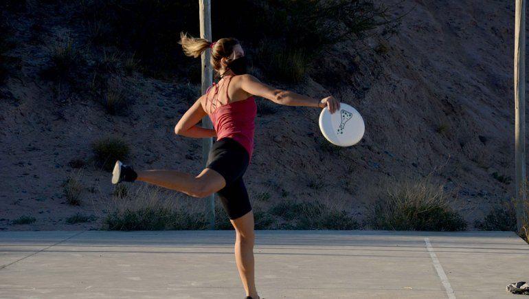 Ultimate frisbee, el deporte que llegó a Neuquén