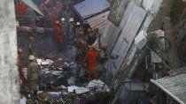 un derrumbe fatal en una favela de rio de janeiro