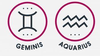 Signos compatibles: ¿Es viable una relación entre Géminis y Acuario?
