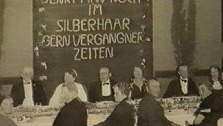 Hotel Eden antiguo, bodas de plata de los dueños (1937)